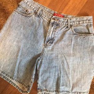 Vintage Zena Jean Shorts Size 8